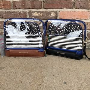 Hang Accessories 3-in-1 Cosmetic Bag